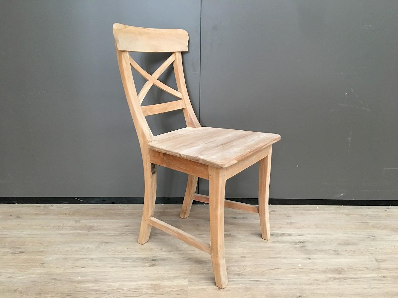 stuhl teakholz mit kreuz buffetschr nk2go. Black Bedroom Furniture Sets. Home Design Ideas